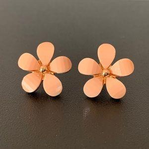 Blush Flower Earrings